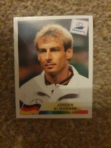 Panini France 98 Sticker - No 386 Jurgen Klinsmann (Germany)