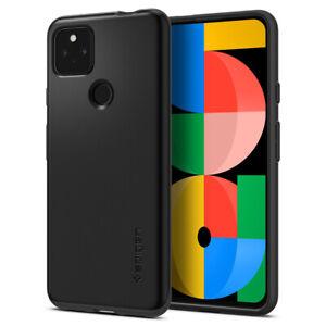 Pixel 5a 5G Case   Spigen ®[ Thin Fit ] Shockproof Slim Matte Protective Cover