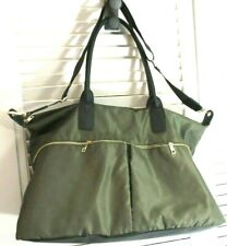 A New Day Green Tote Bag Dual Straps & Belt