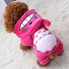 Totoro Hoodie Costume Dog Clothes Pet Jacket Coat Puppy Cat Apparel Winter Warm