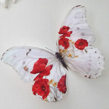 Poppy Butterflies Butterfly Remembrance Day Picture Frame Decorations 2 Gifts