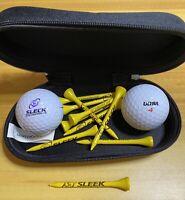 Sleek Golf Equipment Storage, Balls, Tees, Tool Holder Pouch Golf Club Bag