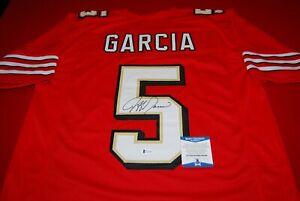 JEFF GARCIA San Francisco 49ers signed Jersey Beckett COA 1