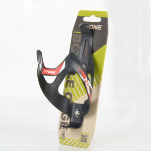 T-ONE Bicycle Bike Carbon Fiber Water Bottle Cage Mont Holder 20g lightweight