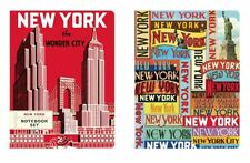 CAVALLINI & Co NEW YORK LARGE NOTEBOOK SET  CITY TRAVEL BIG APPLE DIARY - #A12