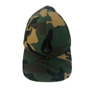 Nixon Camoflague Hat Men's Cap Size Sml/Med Flexfit