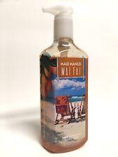 New 1 Bath & Body Works Maui Mango Mai Tai Deep Cleansing Hand Soap Wash 8 Fl Oz
