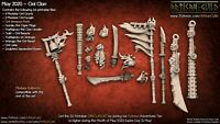 Weapon Set Oni Clan Orc Ogre Demon Artisan Guild Miniatures D&D RPG 3D154