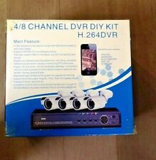 4/8 CHANNEL DVR DIY KIT H.264 DVR