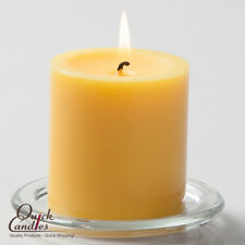 "Richland Pillar Candles Yellow 3"" x 3"" Set of 12, Home, Wedding & Event Decor"