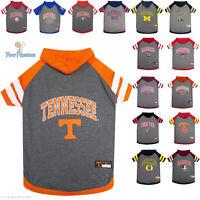 NCAA Pet Fan Gear Dog Hoodie Hoody Shirt Hood for Dog Dogs ALL TEAMS-PICK YOURS
