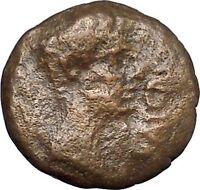 AUIGUSTUS 27BC Provincial mint Ancient Roman Coin Capricorn i49735