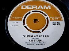 "CAT STEVENS - I'M GONNA GET ME A GUN  7"" VINYL"