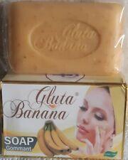 Savon eclaircissant  gluta banana gommant arbutin vitamine C E  kojic acid gluta