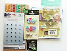 Card Making Scapbooking Craft Lot Blank Cards Jolee's Bling Stickers Snaps