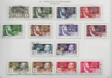 AFRIQUE EQUATORIALE Française timbres oblitérés du N°102  au  N°127