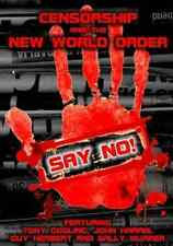 Censorship and the New World Order  DVD NEW
