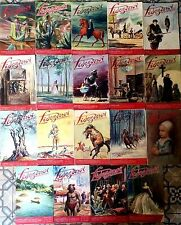 """1)Lot de 19 revues """"LISEZ-MOI"""" des années 40/50  couverture Santini"""