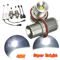 Paire 40W LED Angel Eyes Halo Ampoule Pour BMW E39 E60 E61 E63 E65 63126904048