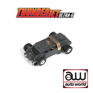 Auto World Thunderjet Ultra G Complete Chassis : 1:64 / HO Scale Slot Car