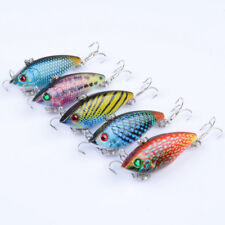 5pcs Lot Mini VIB Fishing Lures 5cm 6g Bass Plastic Bait 8# Hooks Fishing Tackle