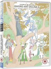 Sword Art Online II Series 2 Part 3 DVD New & Sealed ANIME Region 2 AL
