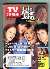 TV Guide Magazine November 8-14 2003 8 Simple Rules The O.C. EX 062816jhe