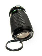 Compact NIKON AI MOUNT VIVITAR 70-210MM F/4.5 ZOOM LENS w/UV Filter, Macro Focus