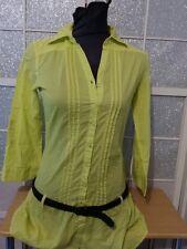 CACHE CACHE  Robe / tunique  coul vert anis    taille 34/36 ** excellent etat