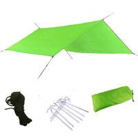 Outdoor Camping Tent Sunshade Rain Shelter Portable Waterproof Canopy Picnic Mat