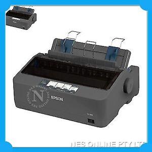 Epson LX-350 9-PIN Monochrome Dot Matrix Printer (P/N: C11CC24041) 390cps *NEW*