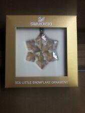 SWAROVSKI, SCS LITTLE SNOWFLAKE ORNAMENT, #5222353, NEW, MIB, FREE USPS SHIP