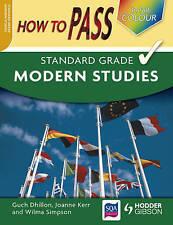 How to Pass Standard Grade Modern Studies SQA endorsed
