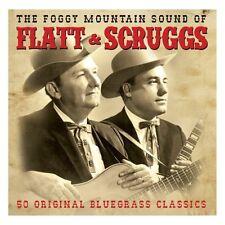 THE FOGGY MOUNTAIN SOUND OF FLATT & SCRUGGS - 50 BLUEGRASS CLASSICS (NEW 2CD)