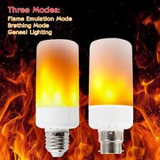 E27 B22 5W LED luz ardiente llama de fuego parpadeo bombilla efecto Fiesta