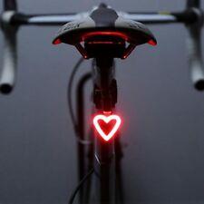 Wiederaufladbare Fahrrad Rücklicht LED Fahrrad Warnung Sicherheit Rücklicht