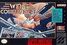 Wing Commander (Super Nintendo Entertainment System, 1992) CART ONLY, SKU 801