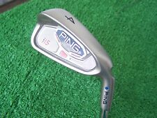Ping Golf i15 4 Iron Blue Color Code 24 Degree Steel AWT Regular Flex Shaft NEW