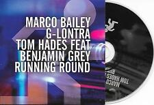 MARCO BAILEY ft BENJAMIN GREY - Running round CD SINGLE 3TR Trance 2010 Holland