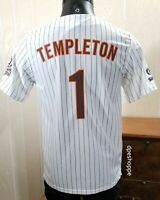 MLB San Diego PADRES Baseball GARY TEMPLETON #1 SGA Fox Sports Jersey Sz S.