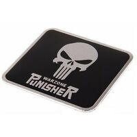 PUNISHER Warzone Plakette Auto Motorrad Emblem Badge Sticker Aufkleber Metall