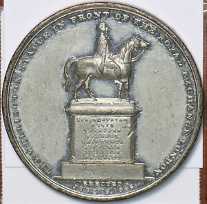Great Britain 1844 Medal Horse animal new royal exchange london 295274 combine s