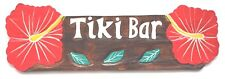 Hawaii Tiki Shield 60 cm Wall Board Decorative Wooden Sign Bar South Sea