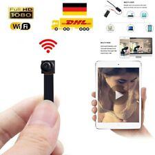 1080P Mini HD WIFI Kamera versteckt Überwachungskamera Spion Spycam Video DHL