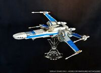 Display stand angled for 75149 Resistance X-Wing fighter (Star Wars-Lego)