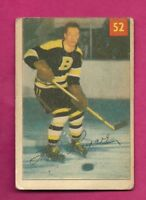 1954-55 PARKHURST # 52 BRUINS HAL LAYCOE GOOD CARD  (INV# A6082)