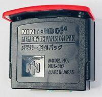 Vintage 1998 Nintendo 64 Memory Expansion Pak Model NUS-007 - OEM