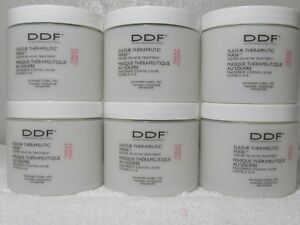 LOT OF 6 DDF Sulfur Therapeutic Mask Acne Treatment 4 Oz each New Sealed FRESH