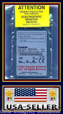 NEW 60GB DELL INSPIRON MINI 12 LATITUDE XT D430 ZIF HARD DRIVE TOSHIBA MK6028GAL