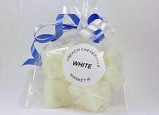 Market III White Candle Wax Tart  Melts Bag of 12 Cubes